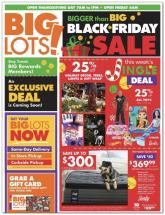 Big Lots Black Friday Ad 2020
