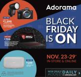 Adorama Black Friday Ad 2020