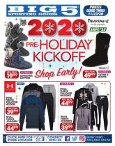 Big 5 Sporting Goods Pre-Black Friday Ad 2020