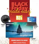 BJ's Wholesale Black Friday Ad 2020