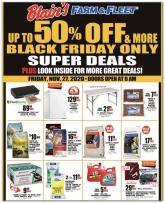 Blain's Farm & Fleet Black Friday Ad 2020