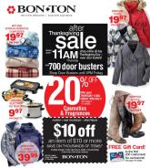 Bon-Ton Black Friday Ad 2020