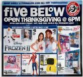 Five Below Black Friday Ad 2020