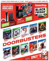 GameStop Black Friday Ad 2020