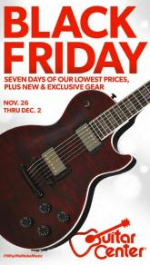 Guitar Center Black Friday Ad 2020
