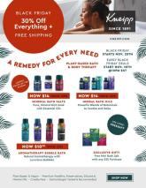Kneipp Black Friday Ad 2020