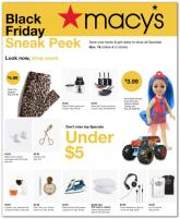 Macy's Pre Black Friday Ad 2020