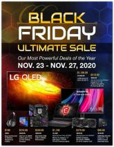 Newegg Black Friday Ad 2020 Ultimate Sale