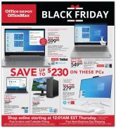 Office Depot Black Friday Ad 2020