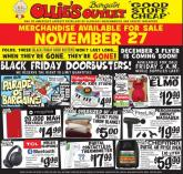 Ollie's Bargain Outlet Black Friday Ad 2020