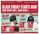 Olympia Sports Black Friday Ad 2020