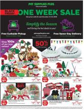 Pet Supplies Plus Black Friday Ad 2020