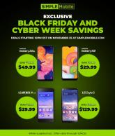 Simple Mobile Black Friday Ad 2020