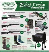 Sportsman's Warehouse Black Friday Ad 2020