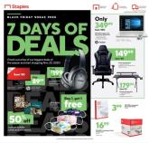 Staples Black Friday Ad 2020