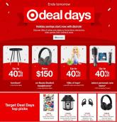 Target Ad Deal Days 2020
