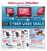 Office Depot Cyber Monday Ad 2017
