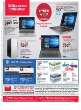 Office Depot Cyber Monday Ad 2019
