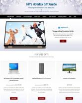 HP Holiday Gift Guide Ad 2021