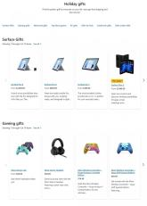 Microsoft Holiday Gift Guide Ad 2021