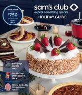 Sam's Club Holiday Gift Guide Preview 2021 Fall