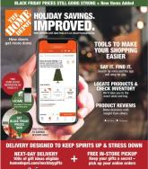 Home Depot Black Friday Ad Nov 26 - Dec 2, 2020