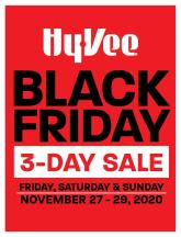 Hyvee Black Friday Ad 2020