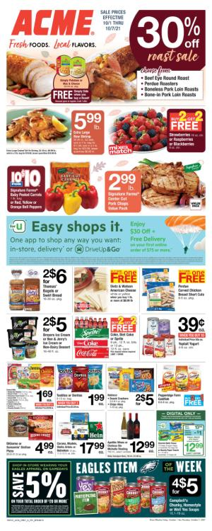 acme weekly ad oct 1 2021