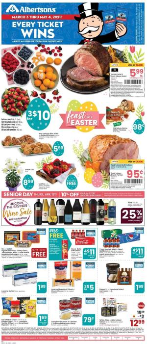 albertsons weekly ad mar 31 2021