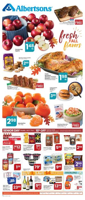 albertsons weekly ad oct 6 2021