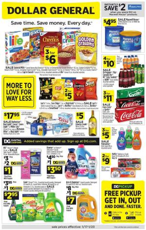 dollar general ad jan 17 2021