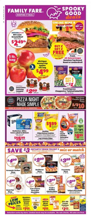 family fare ad oct 25 2020