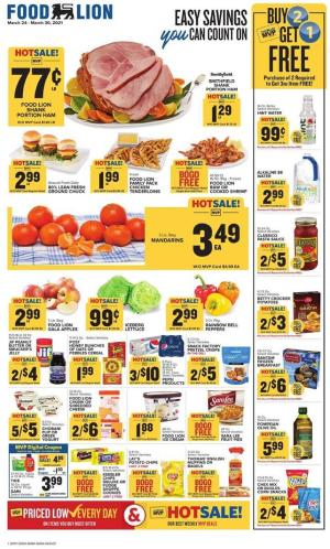 food lion weekly ad mar 24 2021