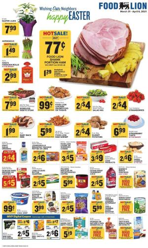 food lion weekly ad mar 31 2021