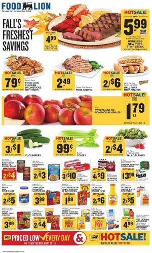 food lion weekly ad oct 14 2020