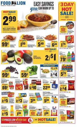 food lion weekly ad oct 25 2020