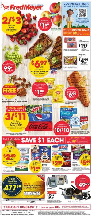fred meyer ad sep 15 2021