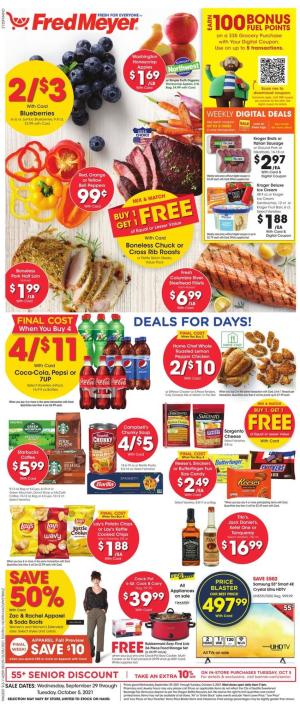 fred meyer ad sep 29 2021