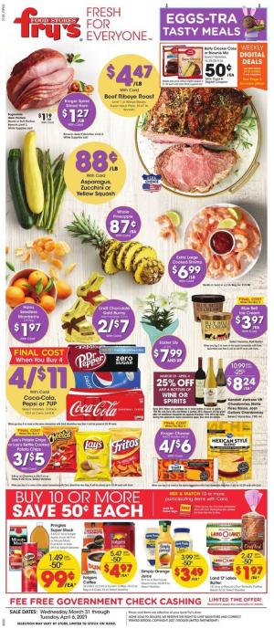 frys weekly ad mar 31 2021