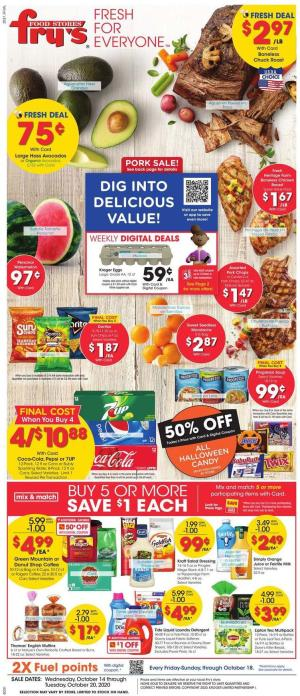 frys weekly ad oct 14 2020