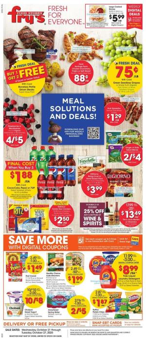 frys weekly ad oct 21 2020