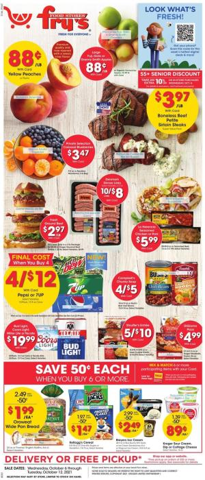 frys weekly ad oct 6 2021