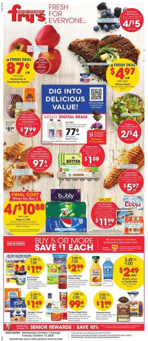 frys weekly ad oct 7 2020