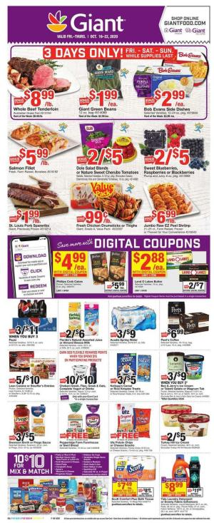 giant weekly ad oct 16 2020