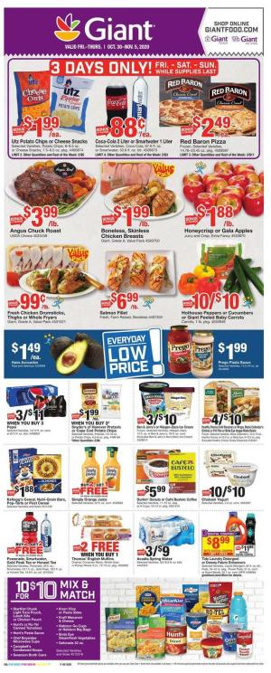 giant weekly ad oct 30 2020