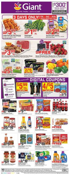 giant weekly ad oct 8 2021
