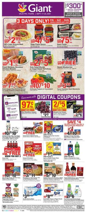 giant weekly ad sep 17 2021