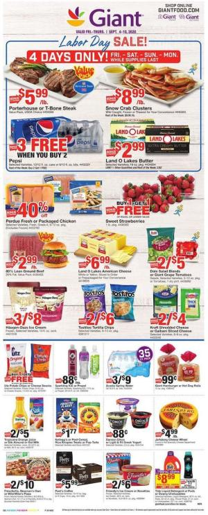 giant weekly ad sep 4 2020