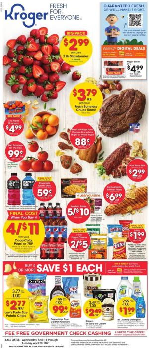 kroger weekly ad apr 14 2021