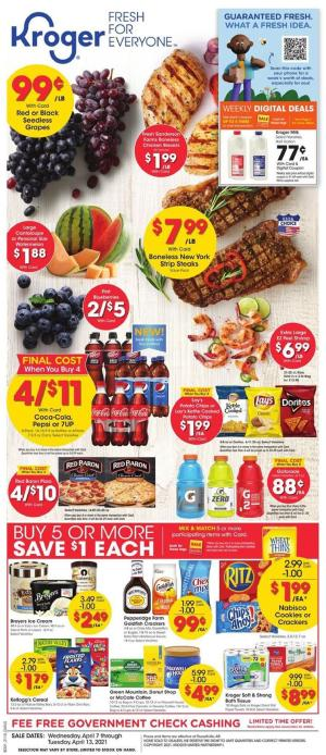 kroger weekly ad apr 7 2021